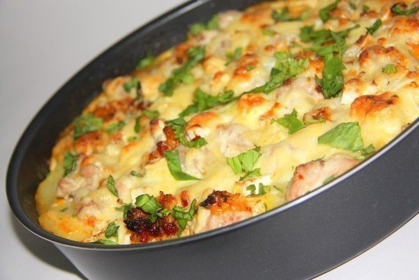 Картофельная запеканка с фаршем куриным в духовке рецепты с пошагово с