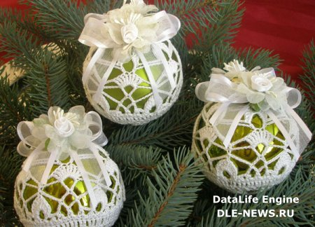 История новогодних украшений на елку